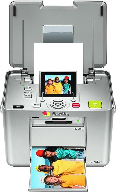 Amazon Com Epson Picturemate Snap Pm 240 4x6 Photo Printer Electronics