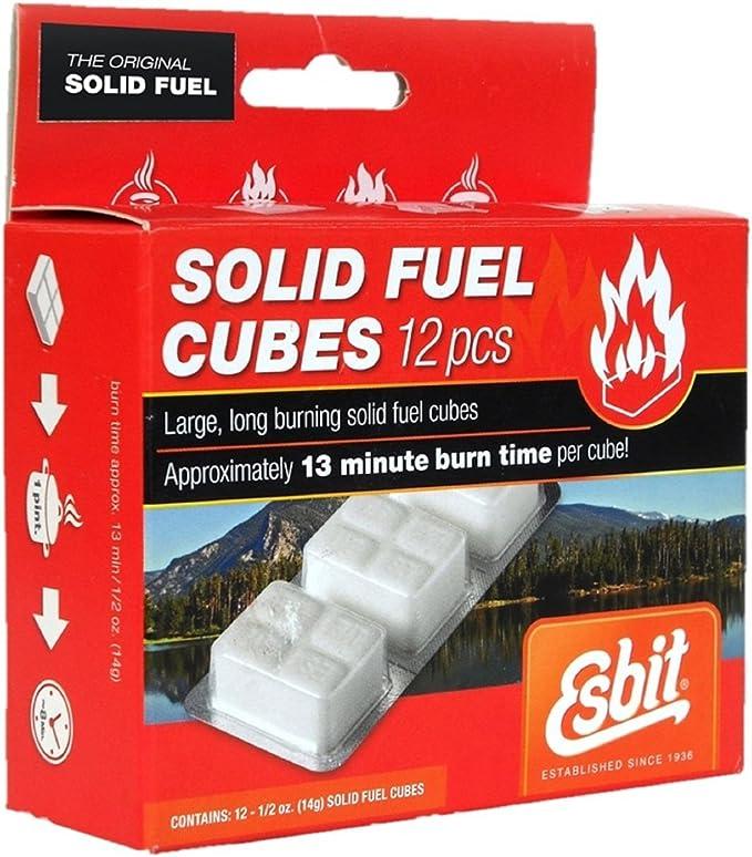 /Tabletas de combustible s/ólido Esbit/