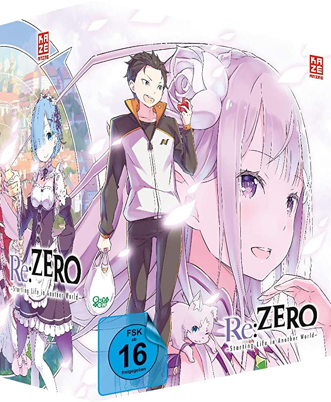 Re:ZERO - Starting Life in Another World - DVD Vol. 1 + Sammelschuber - Limited Deluxe Edition [Alemania]