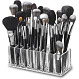 byAlegory Acrylic Makeup Brush Organizer | 24 Spaces