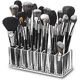 byAlegory Acrylic Makeup Brush Organizer Cosmetic Holder | 24 Space Storage