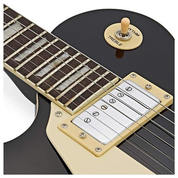 Guitarra Eléctrica New Jersey Zurda + Pack Completo - Negro: Amazon.es: Instrumentos musicales