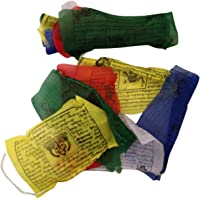 BUDDHAFIGUREN Banderas budistas de oración de 5 metros