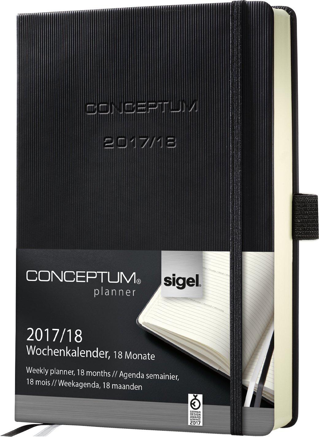 Amazon.com : Sigel C1802 Academic Calendar 2017-2018, 18 ...