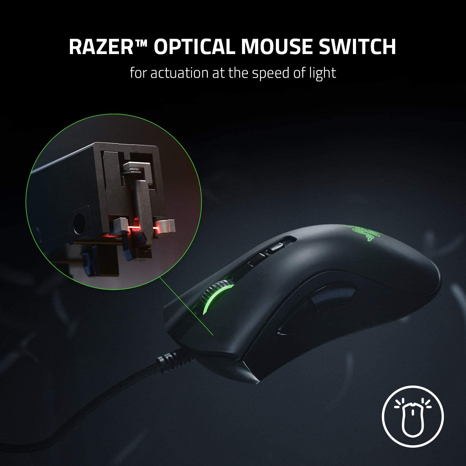 Razer DeathAdder V2 Wired Gaming Mouse with Best-in-class Ergonomics 8