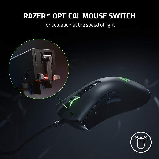 Razer Deathadder V2 Kabelgebundene Gaming Maus Mit Computer Zubehör