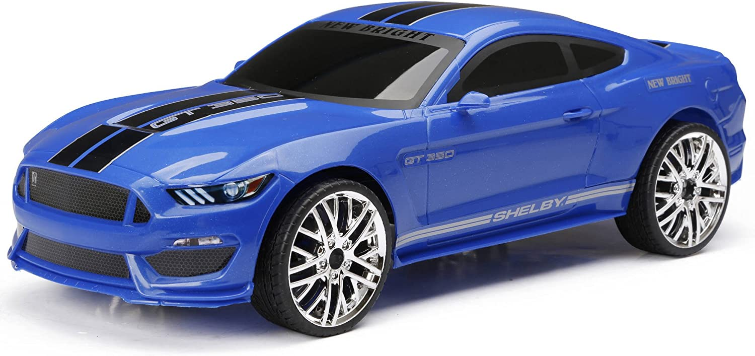 New Bright Ford Shelby GT350 1:12 Full-Function Radio Controlled R/C Chargers Car