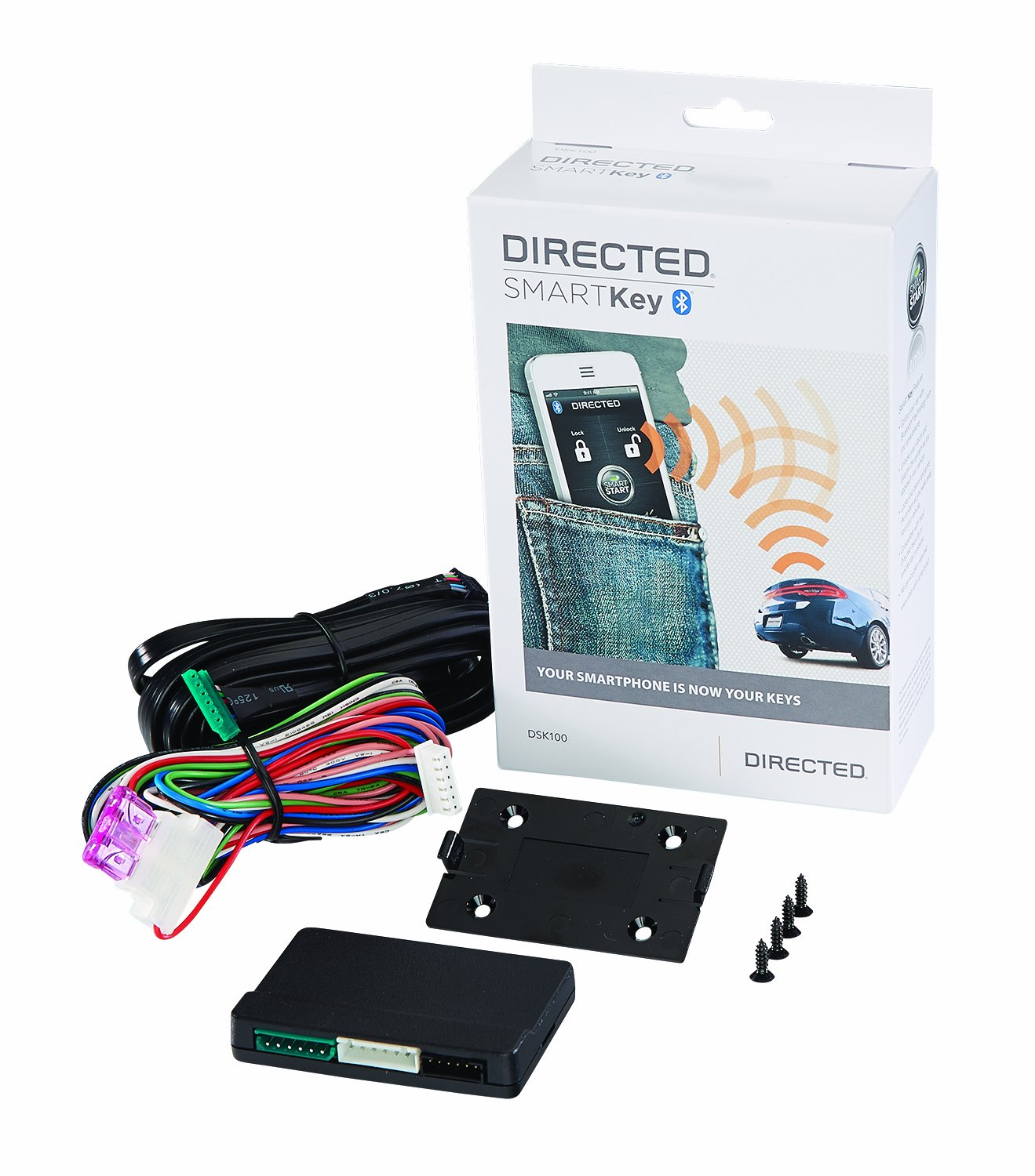 Amazon.com: Directed Electronics Inc Python DSK100 Directed SmartKey  Bluetooth Interface for SmartStart: Cell Phones & Accessories