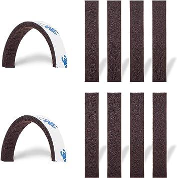 Felt Strip Self Adhesive 45mm 2-10 mm thick Felt Band Black Grey White Brown