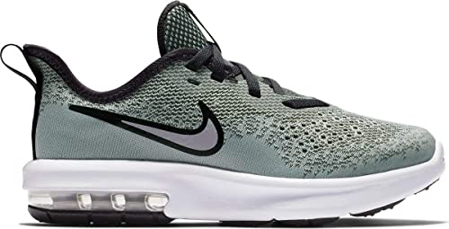 buy popular aa5fa ea0f6 Nike Boys Air Max Sequent 4 (ps) Fitness Shoes Multicolour Wolf  Grey Anthracite