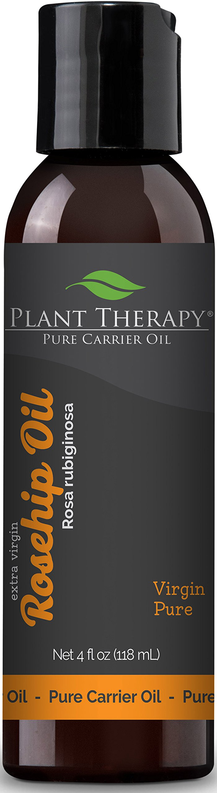 Plant Therapy Rosehip (Extra Virgin) Carrier Oil. A Base Oil for Aromatherapy, Essential Oil or Massage use. 4 oz.