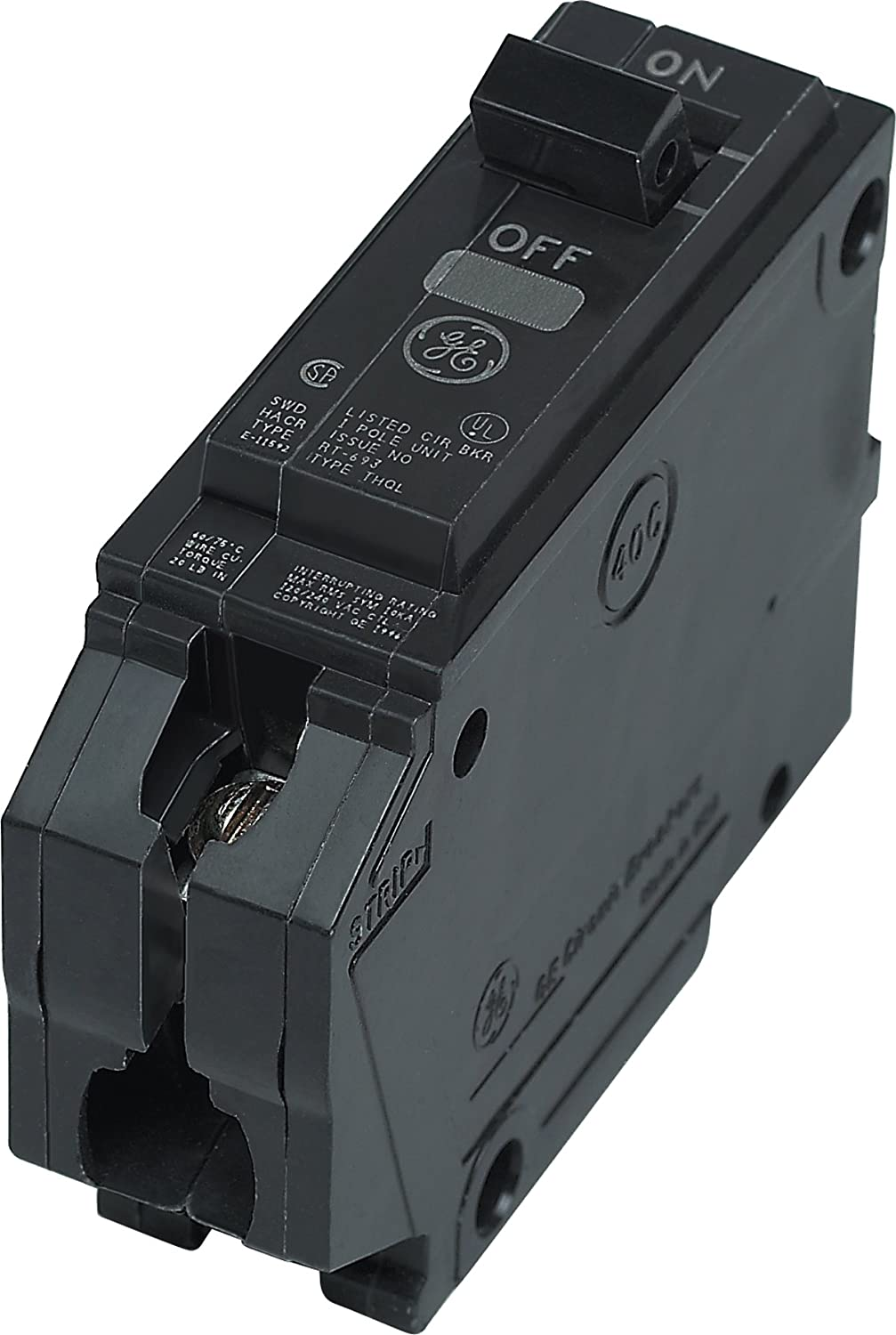 Connecticut Electric General THQP120 1 Pole 20 Amp Thin Series Circuit Breaker