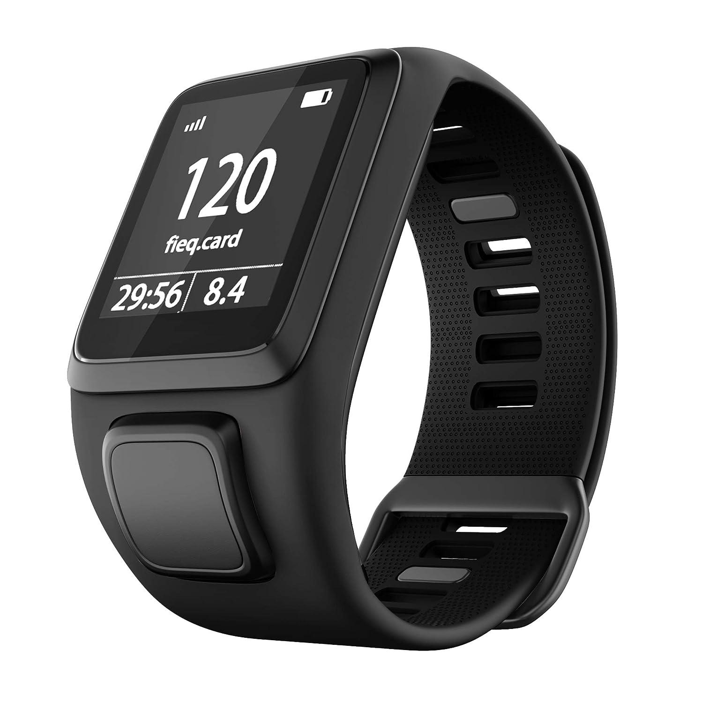Cobar Watchband for Tomtom Watch, Silicona Impermeable Respirable Sport Fitness Correa de Reloj reemplazo para Tomtom Runner 2/ Runner 3/ Spark/Golfer ...