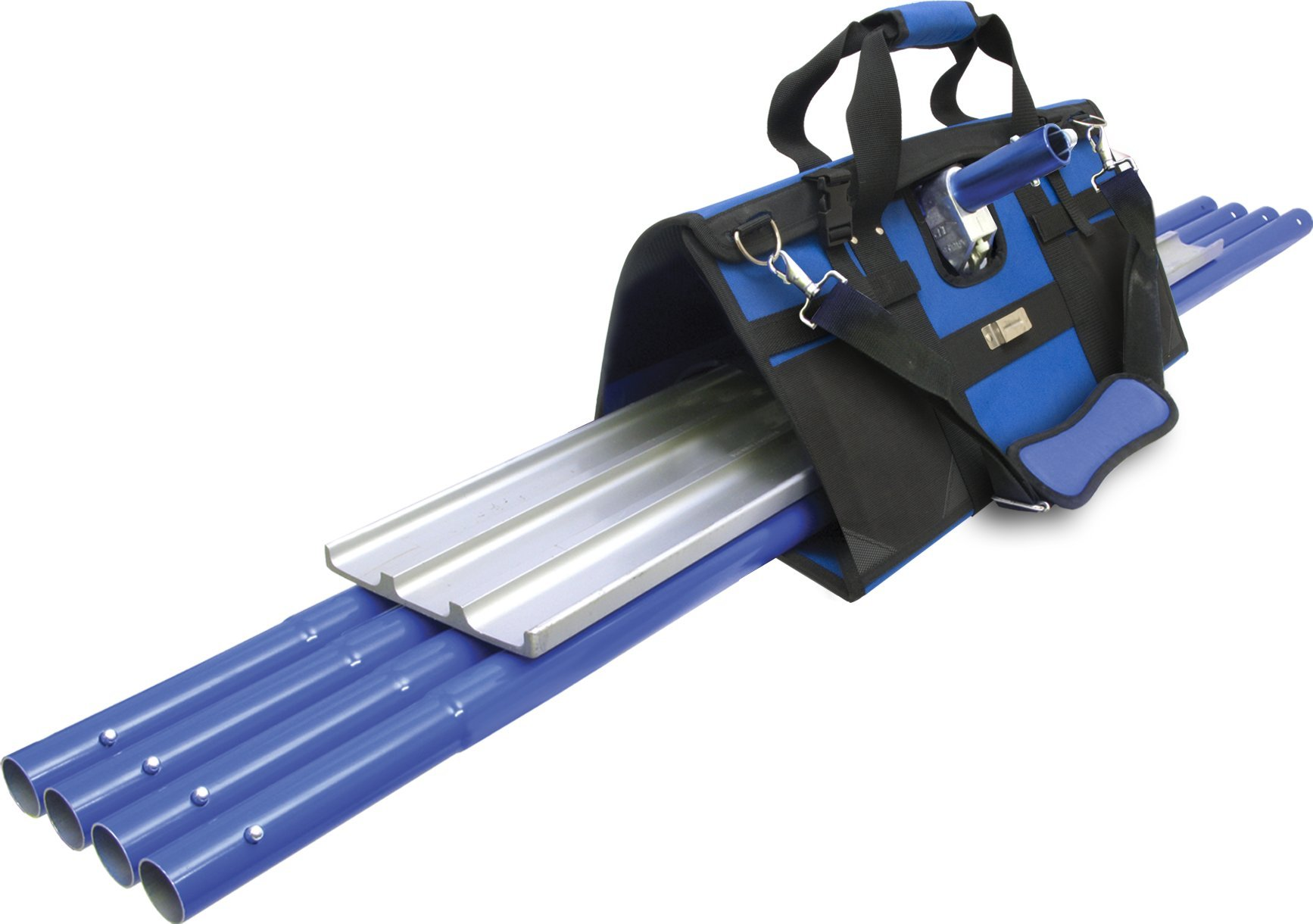 MARSHALLTOWN The Premier Line BFKIT7 Finisher's Tote with Square End Float, Rock-It Bracket and QLT Handles by MARSHALLTOWN The Premier Line