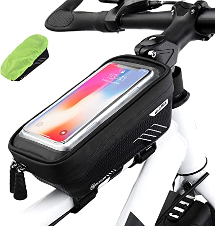 Bicycle Cycling Bike Front Top Tube Frame Bag Waterproof Phone Holder Case