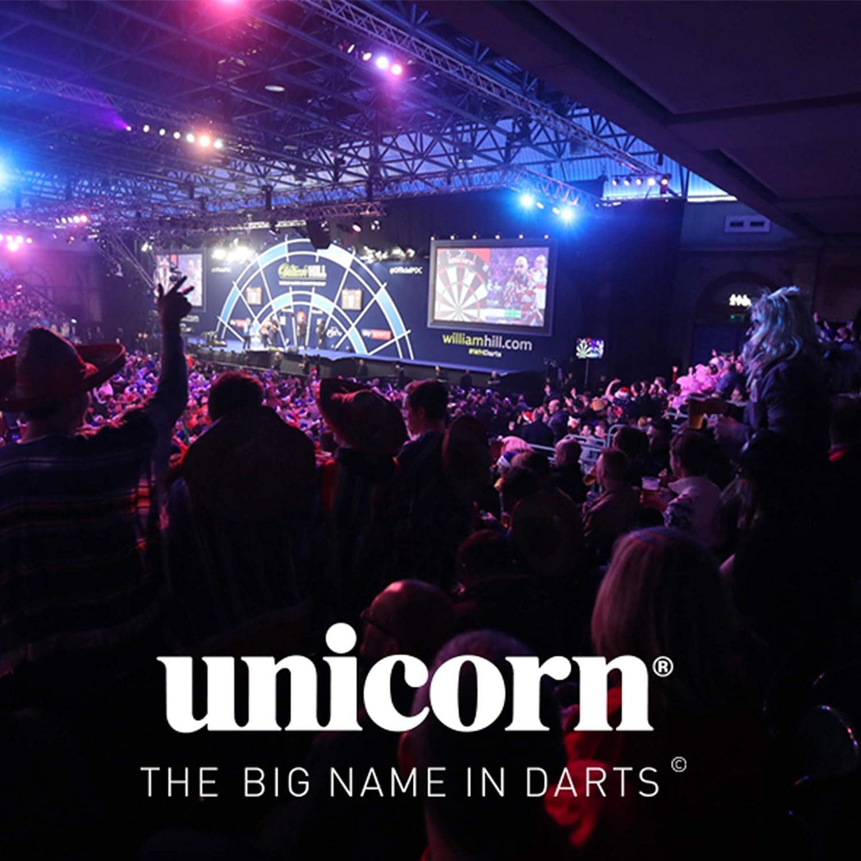 Unicorn Core Plus Win 26 Gram Darts Black//Brass Set of 3