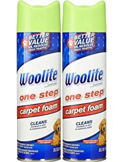 Amazon Com Woolite 08209 Heavy Traffic Carpet Foam Cleaner Stain Remover 4 Pack Home Kitchen