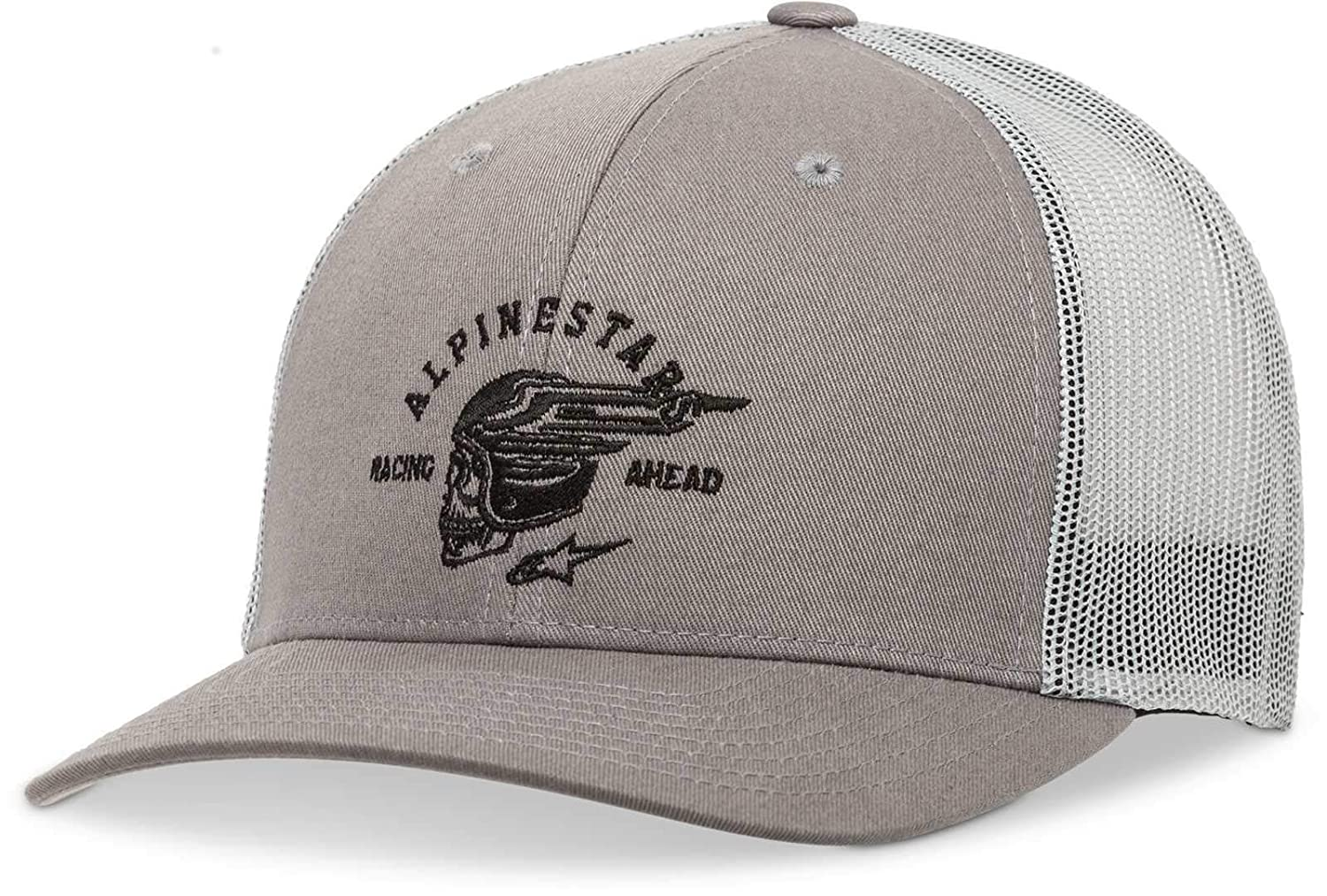2e8cc3b2 Amazon.com: Alpinestars Men's Logo Flexfit hat Curved Bill Trucker ...