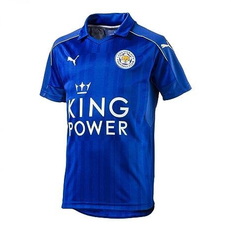 a85efabde81df Puma Leicester City Camiseta Home 2016 2017 Niños  Amazon.es ...