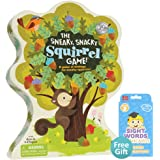 The Sneaky, Snacky Squirrel Game with Your Choice of Free Educational Flashcards, Second Grade