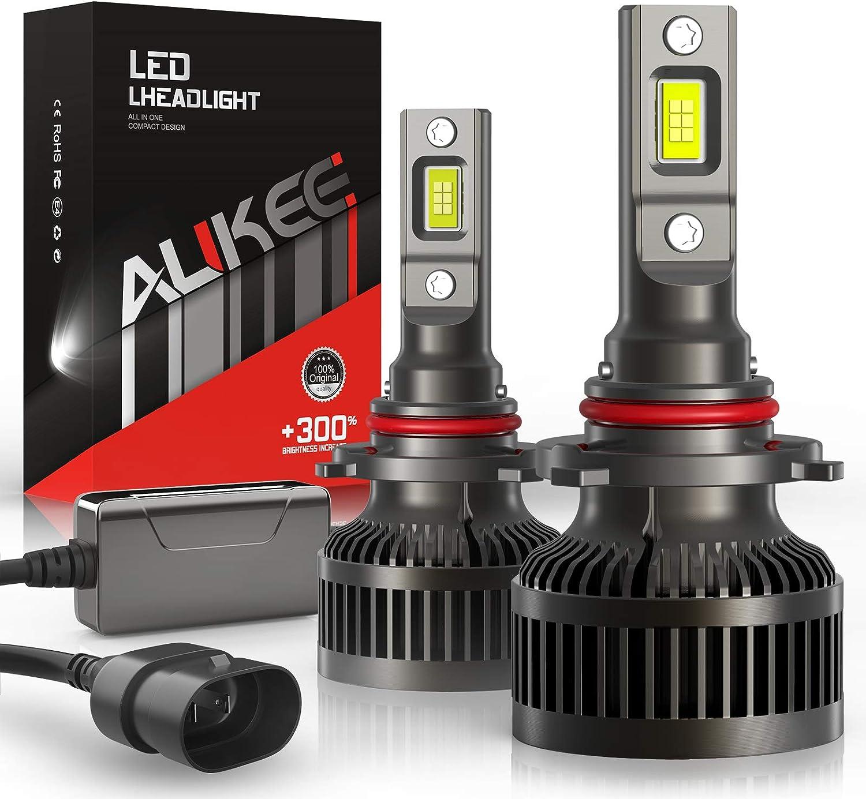 Au-kee 9006 LED Headlight Bulbs (Fan-less)
