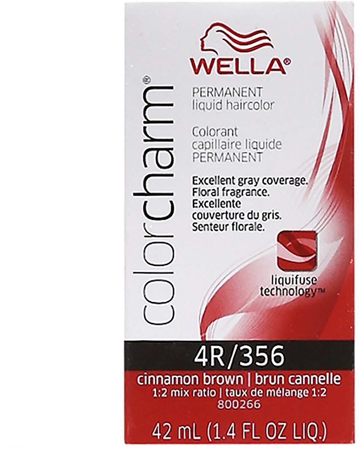 Amazon Wella Color Charm Liquid Haircolor 4r356 Cinnamon