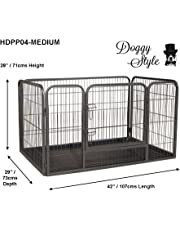 Doggy Style Heavy Duty Whelping With Abs Tray Puppy Play Pen, Medium