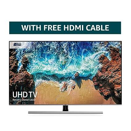 a7acaecf0 Samsung 82NU8000 82-Inch Dynamic Crystal Colour Ultra HD Smart 4K TV -  Slate Black