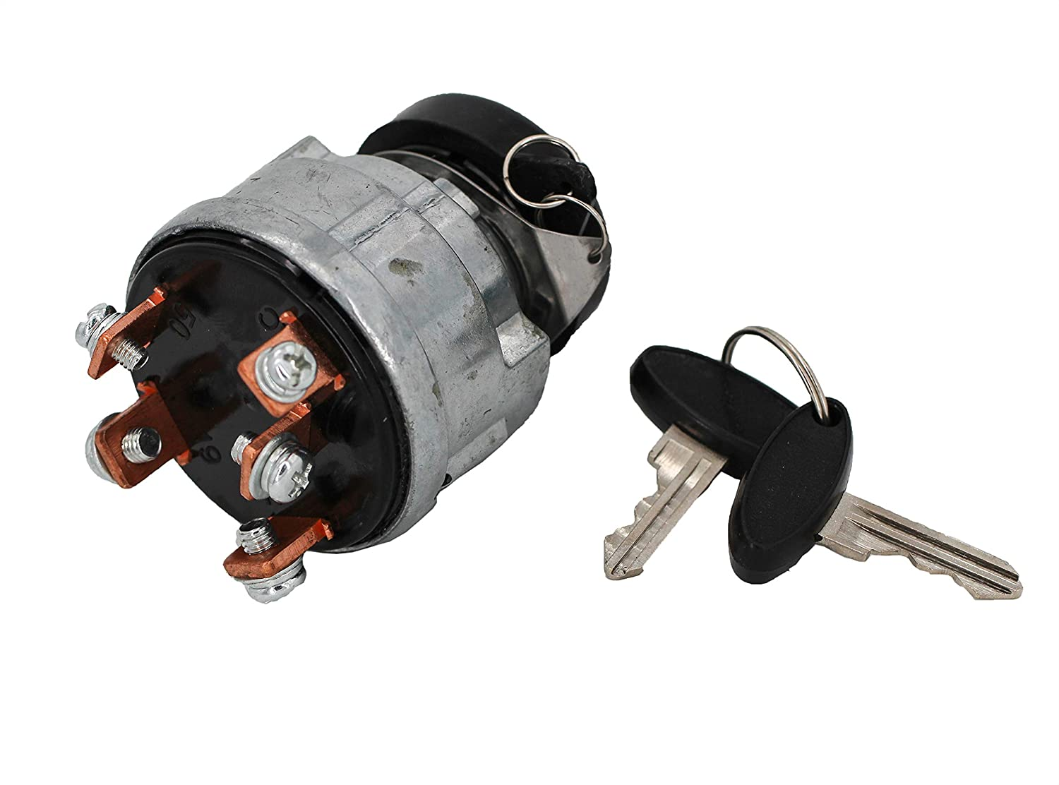 JEENDA Ignition Switch SBA385200331 83940565 SBA385200330 for Ford New Holland Shibaura Tractor 1000 1100 1110 1200 1210 1300 1310 1500 1510 1600 1700 1710 1900 1910 2110 CL25 35 45 55 65 Skid Steer