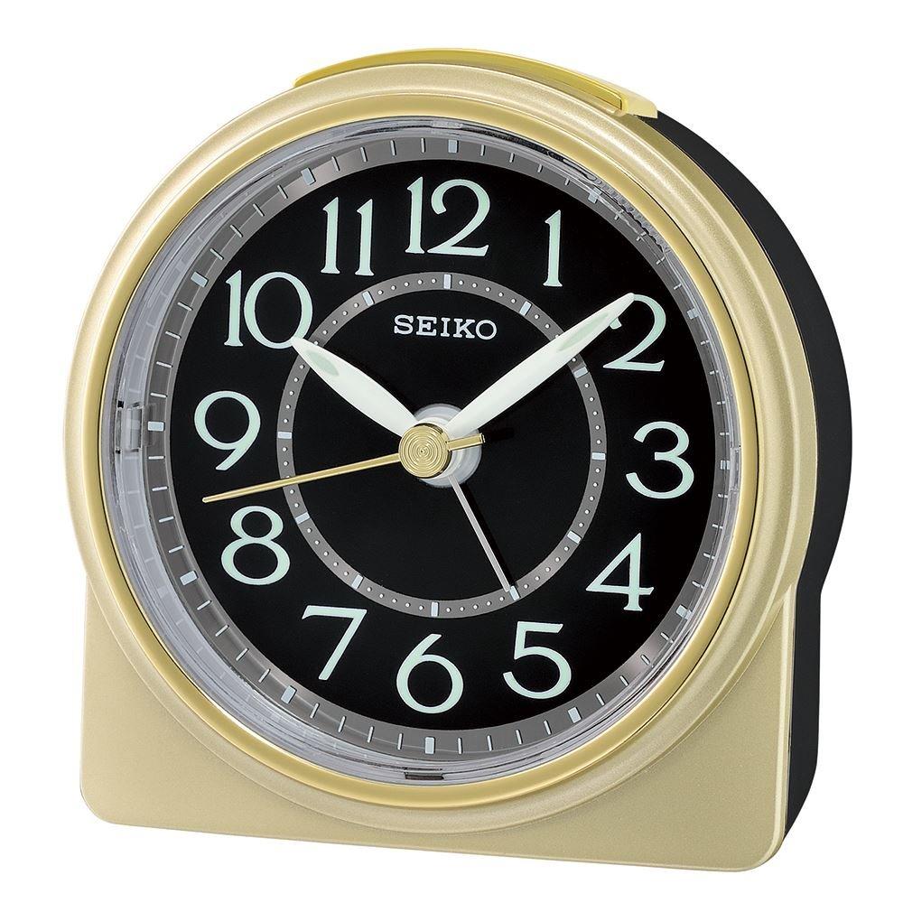 Seiko analogico sveglia orologio Old Skool Pro QHE165G