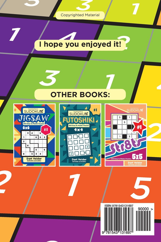 Sudoku Suguru - 200 Easy to Medium Puzzles 5x5 (Volume 1): Dart ...