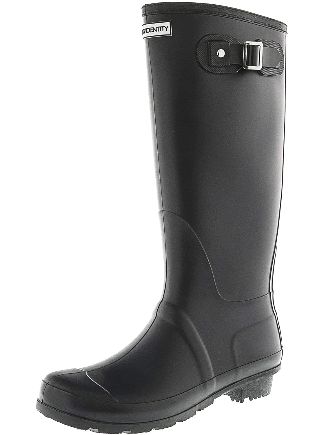 Matte Black Exotic Identity Original Tall Rain Boots