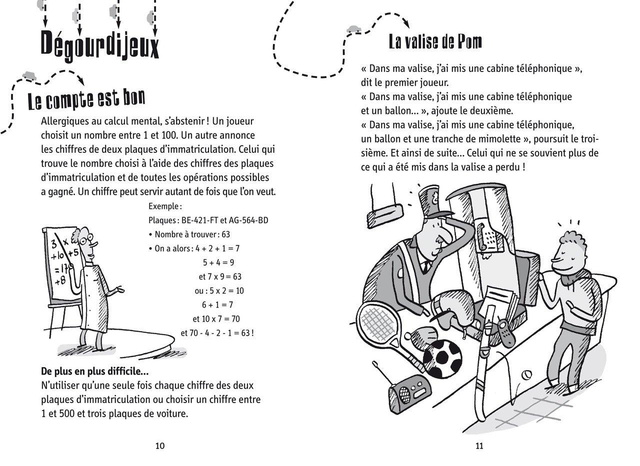 Amazon.fr - 100% jeux pour s'amuser en voiture - Dès 7 ans - Sophie de  Mullenheim, Laurent Audouin - Livres