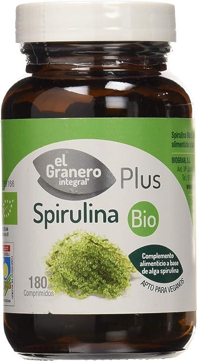 El Granero Espirulina - 100 gr: Amazon.es: Salud y cuidado ...