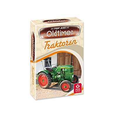 ASS Altenburger 22571452–Top odtimer–Tracteurs, jeu de cartes