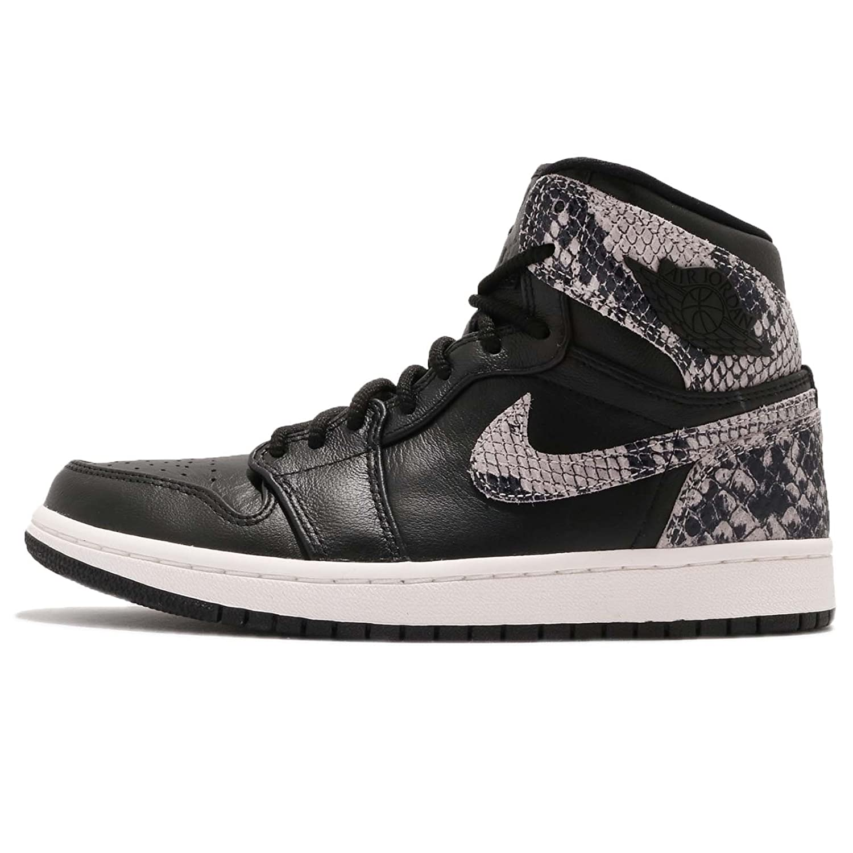 [ナイキ] (ジョーダン) エアジョーダン 1 RET Hi プレミアム レディース バスケットボール シューズ Air Jordan 1 RET Hi PREM AH7389-014 [並行輸入品] B07FFY1M14 BLACK/BLACK-PHANTOM 23.0 cm