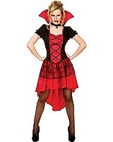 Glamourous Vamp - Adult Costume Lady: XL (UK:22-24)