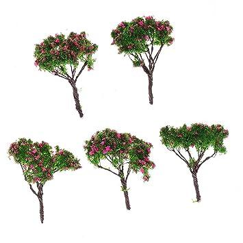 Gazechimp 5 Stück Mikro Landschaft Dekorationen Mini Harz Ornament