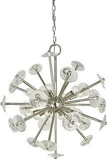 product image for Framburg 12-Light Satin Pewter Apogee Chandelier