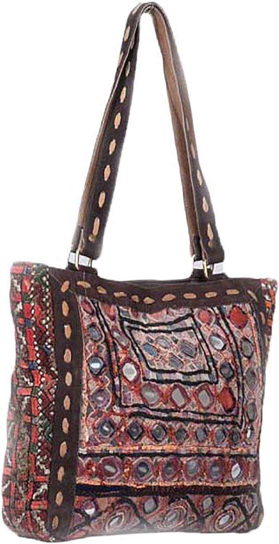 Jaipur Textiles Hub Women's Hand Bag ( Brown, JTH-147 )