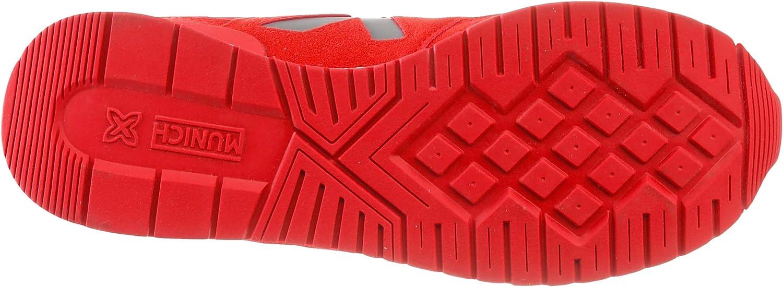 Limpio Y Clásico Popular Agradable Munich Dash 53, Zapatillas para Hombre Rojo gpUh1f tXA4rk YgJA9Q