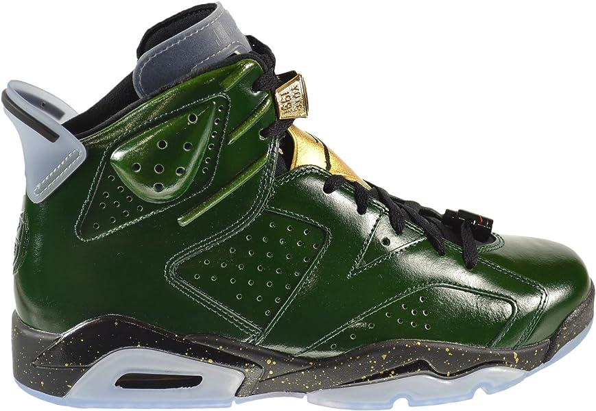 d15948fb667 new zealand air jordan 6 retro championship champagne mens shoes pure green  metallic gold red black
