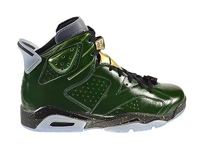 finest selection c2782 bb625 ... promo code air jordan 6 retro quotchampionship champagnequot mens shoes  pure green metallic gold 92d80 141c6