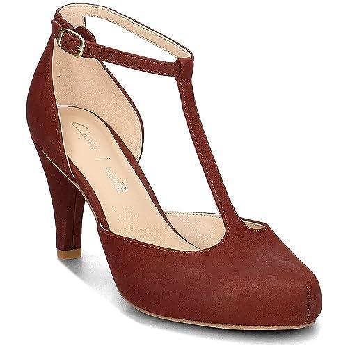 0d30f7364b75 Clarks Shoes 26132290 Dalia Tulip Granate (39.5