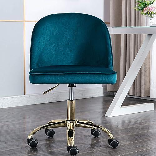 Modern Swivel Desk Chair Accent Velvet Office Chair