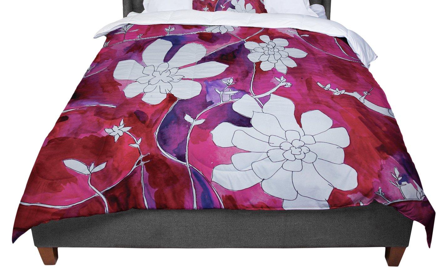 KESS InHouse Theresa Giolzetti ''Succulent Dance II'' Twin Comforter, 68'' X 88''