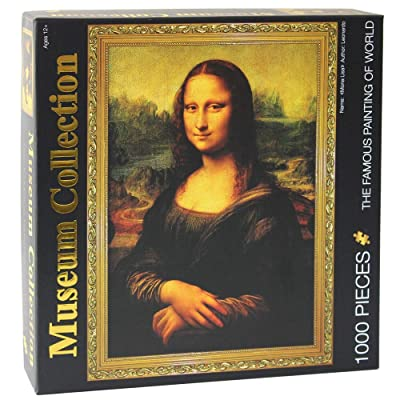 Moruska Mona Lisa by Leonardo da Vinci Jigsaw Puzzle 1000 Piece Puzzles for Adults Teens: Toys & Games