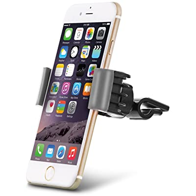 Aduro U-Grip Phone Car Mount (Air Vent) Swivel Universal Smartphone Holder for Your Car (Gray)
