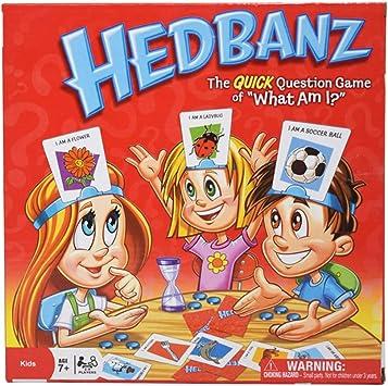 crayfomo Juego de adivinanzas de HedBanz ¿Qué Soy? / Juego de Cartas Paquete de Fiestas para niños Amigos y Familiares (Versión Inglesa): Amazon.es: Juguetes y juegos