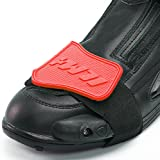 ILM Motorcycle Accessories Shifter Boots Shoe Protector Cover Gear Gifts 3 Colors (RED)